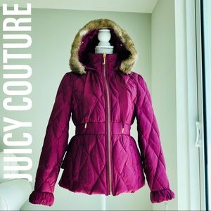 Juicy Çouture Quilted Puffer Coat